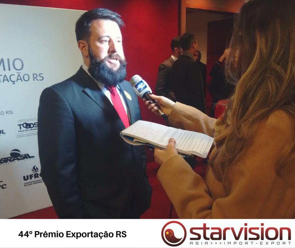Diretor da Starvision concede entrevista para o Canal 6 da Net